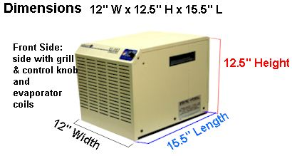 Picture of dehumidifier for boats and rvs